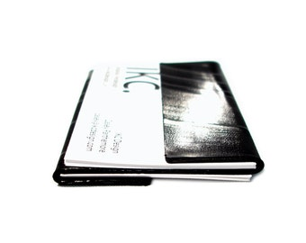 Card Holder made from Recycled Vinyl Record