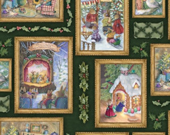 LAST 41 Inches - Christmas Festivities - By Susan Wheeler - From David's Textiles  - 6.75 Dollars