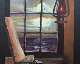 The Window Original 10X8 Painting