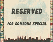 RESERVED LISTING Custom Made to Order Comic Book Letters Wall Hangers Spiderman, Batman, Superman, Ghost Rider