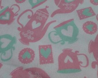 Tea Time Baby Blanket