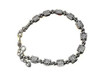 Sterling Silver Bracelet,  Bali Silver Bracelet, Career Fashion - B0808-04