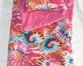 Handmade Sleeping Bag (Tie Dye) fits 18 inch Doll Like American Girl  This is My Best Seller