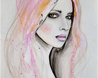 Mayya 2 - Art Print