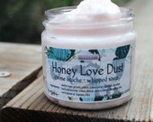 Jar Soap Honey Love Dust 2 oz Whipped Soap Mini Creme Fraiche Trial Sample Size VEGAN