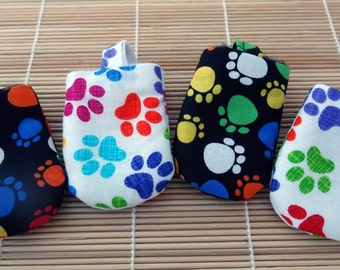 Rainbow Paws Hush Puppy Dog Tag Covers