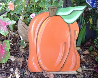 Pumpkin Yard Art, yard art, Halloween yard art, yard decorations, fall yard decorations,