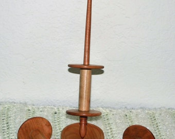 Bobbin Spindle with Three bobbins and Support Bowl