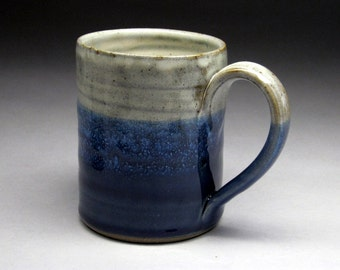Assorted Strait Sided Stoneware Coffee Mug - Custom Made to Order