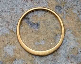1 Vermeil Half Flat Link Connector 12mm