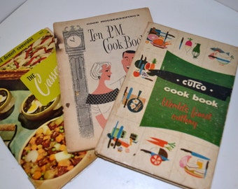 Vintage Cook Book Collection Instant Collection