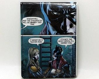 Sewn Comic Book Wallet - Batgirl Design 3