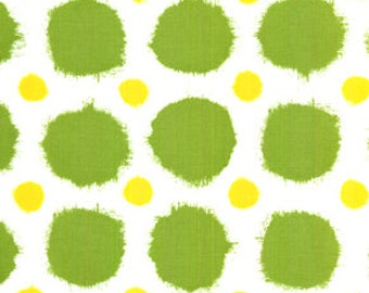 Joel Dewberry Deer Valley Grass Green Rustic Dots  jd28-grass quilting cotton fabric Sold by the fat quarter or half yard
