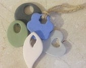 Custom Bisque Pottery Ornament - Aromatherapy Essential Oil Diffuser - Underglaze color of your choice - VARIOUS SHAPES