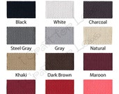 "1 Yard Cotton Webbing - 1.25"" Medium Heavy Weight for Key Fobs, Purse Straps, Belting - SEE COUPON"