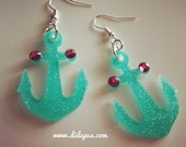 ANCHOR laser cut earrings
