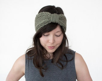 Knitted Headband // Turban Headband // Knit Hairband // Woollen Headband // Winter Headband // Ear Warmers