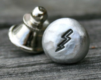 Tie Tack - Lapel Pin - Lightning Bolt