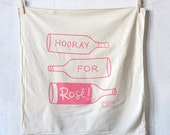 Hooray for Rosé kitchen towel