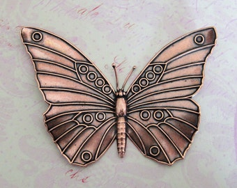 XLarge COPPER Butterfly 2430C