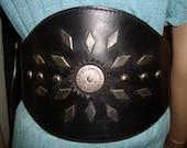 Harley- Davidson Ultra Kidney Belt Black Woven Discontinued