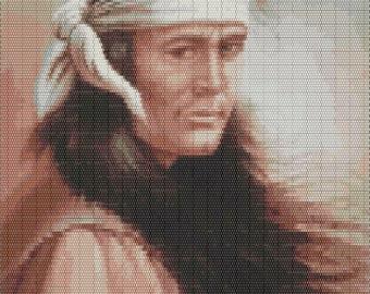 Native Breeze, Large Native Tapestry Beaded Pattern