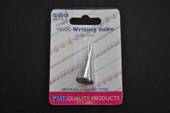 Cake Decorating Writing Techniques : PME Cake Decorating 3 Writing Tips Set for Dollhouse