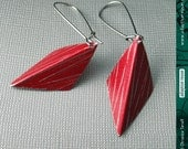 Textured Red Harlequins--...