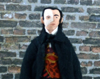 Phantom of the Opera Doll Erik Miniature Art Character