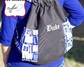 Tailgate Teammate Backpack Sewing ePattern