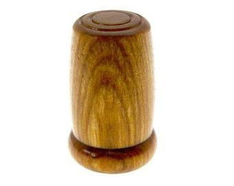 Handmade Wood Thimble Lemon Wood