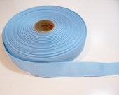 Blue Ribbon, Baby Blue Grosgrain Ribbon 1 inch wide x 10 yards