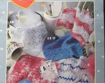 Dandy Dishcloths Crochet Pattern Leisure Arts