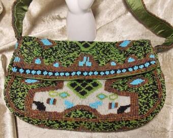 Vintage Beaded Y & S Original Handbag