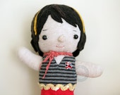 My Valentine - Waldorf Inspired Sock Doll 7.75 inches