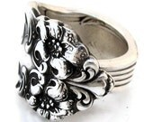 Spoon Ring Size 8 Tiger Lily 1901