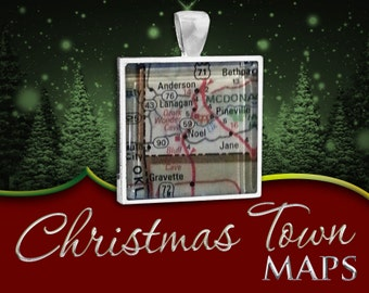 Maps: Christmas Towns