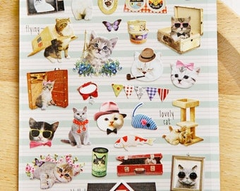 Paper Stickers (P185.17 - Alley Cat)