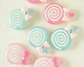 6 pcs Lollipop Candy Cabochon (22mm30mm) CD497