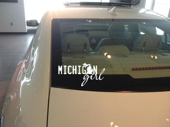 Items Similar To Michigan V78 Vinyl Car Window Decal