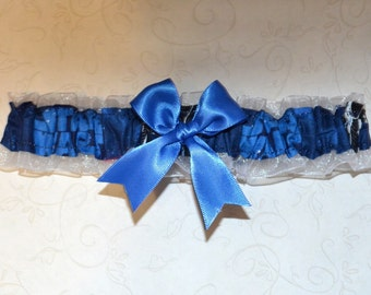 Wedding Toss Garter Handmade with Star Wars fabric