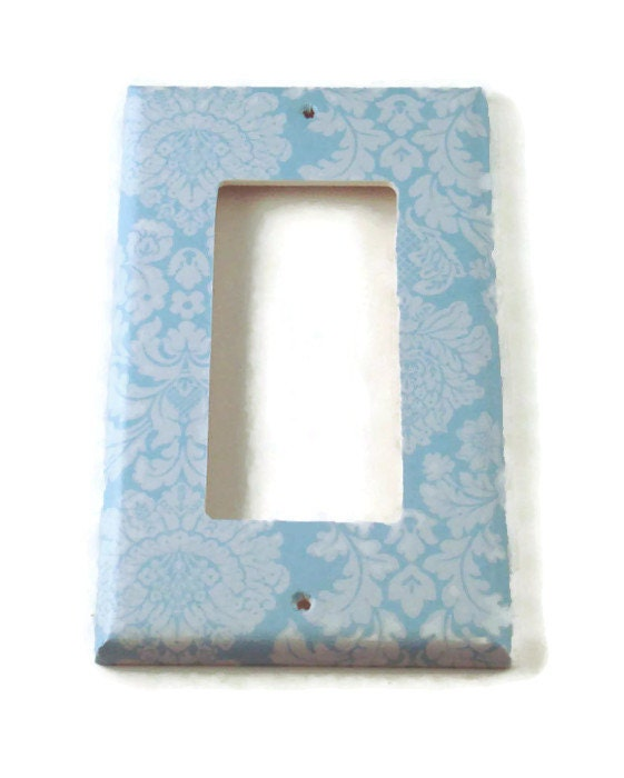Decorative Wall Light Covers : Rocker light switch cover wall decor switchplate plate
