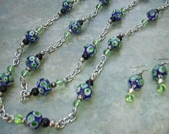 Jewelry Set ATLANTIS ~ Necklace & Earrings
