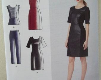 Simplicity 1314 Cynthia Rowley Dress, Top, Pants Pattern Uncut