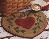 LJP Primitive  Rug Hook Kit Heart of Hearts OFG PFATT