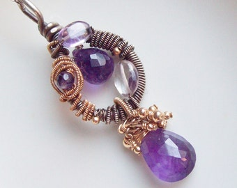 Amethyst Mine Necklace