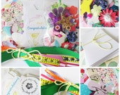 Card Making Kit for Girls & Boys, School Holidays Fun, Childrens Craft Activity, Christmas, Birthday