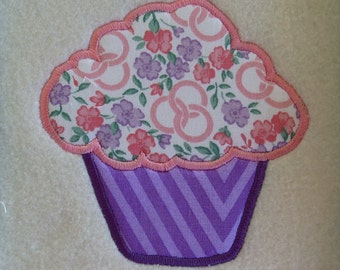 CupCake1  Applique Embroidery Designs - 2 sizes - CUSTOM  REQUEST WELCOME