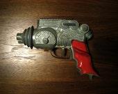 1954 Vintage Toy Ray Gun - Hubley Atomic Disintegrator - Space Pistol, Cap Gun