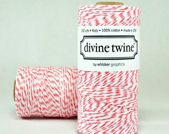 CLEARANCE Coral Divine Twine - Baker's Twine